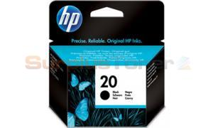 HP NO 20 INKJET BLACK (C6614AN)