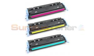 Compatible for HP NO 124A CLJ-2600 PRINT CTG COLOR TRI-PACK (CE257A)