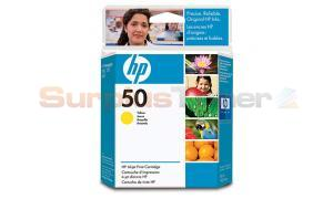 HP DESIGNJET 250C 650C INKJET YELLOW 410 PAGES (51650Y)