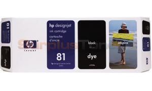 HP DESIGNJET 5000 NO 81 DYE INK CTG BLACK 680ML (C4930A)