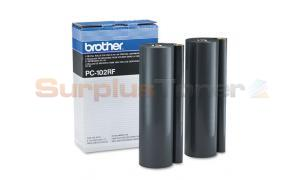 BROTHER PC-101 REFILL ROLLS BLACK (PC102RF)