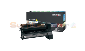 LEXMARK C772 PRINT CART YELLOW 15K (C7722YX)