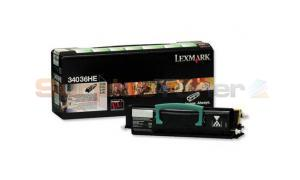 LEXMARK E330 E340 TONER CARTRIDGE HY (34036HE)