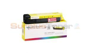 MEDIA SCIENCES TONER YELLOW FOR OKI C5500 C5800 (MSOK5855YSC)