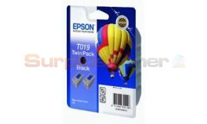 EPSON STYLUS COLOR 880 INK BLACK TWIN PACK (C13T01940220)