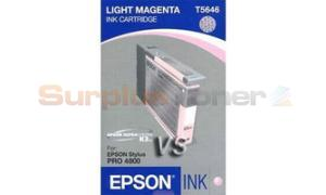 EPSON STYLUS PRO 4800 INK CART LIGHT MAGENTA 110ML (T564600)