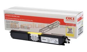 OKI C110 C130 TONER CARTRIDGE YELLOW SY (44250717)