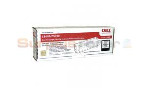 OKI C5600 C5700 TONER CARTRIDGE BLACK (43324408)