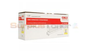 OKI MC860 IMAGE DRUM YELLOW (44064009)