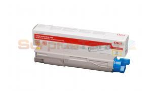 OKIDATA C3500 TONER CARTRIDGE YELLOW HY (43459321)