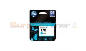 HP NO 178 INK CARTRIDGE CYAN (CB318HE)