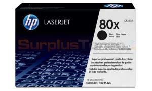 HP 80X TONER CARTRIDGE BLACK 6.9K (CF280X)