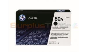 HP 80A TONER CARTRIDGE BLACK 2.7K (CF280A)