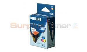 PHILIPS MF-JET 500 INK CARTRIDGE COLOUR (PFA-534)