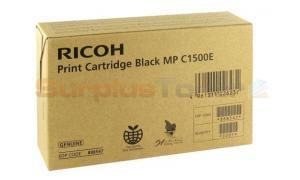 RICOH MP C1500E PRINT CARTRIDGE BLACK (888547)