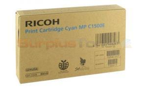 RICOH MP C1500E PRINT CARTRIDGE CYAN (888550)