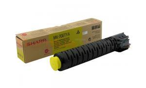 SHARP MX 6200 TONER CARTRIDGE YELLOW (MX-70GTYA)