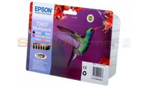EPSON STYLUS PHOTO R265 INK CART MULTIPACK CMYK LC LM (C13T08074011)