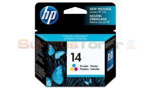 HP NO 14 INKJET CART TRI-COLOR (C5010DN)