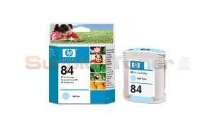 HP NO 84 INK CARTRIDGE LIGHT CYAN (C5017A)