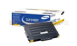 SAMSUNG CLP-510 TONER CARTRIDGE YELLOW 5K (CLP510D5Y)