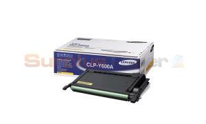 SAMSUNG © CLP-600 TONER CARTRIDGE YELLOW (CLP-Y600A)