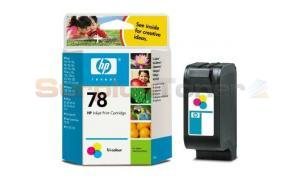 HP NO 78 INKJET CART COLOR 560 PAGES (C6578DE)