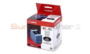 CANON BC-60 INK CARTRIDGE BLACK (0917A002)