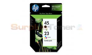 HP NO 45 23 INK CART BLACK/COLOR COMBO PACK (C8790FN#140)