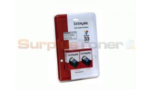 LEXMARK P6250 N0. 33 PRINT CART COLOR (18C0534)