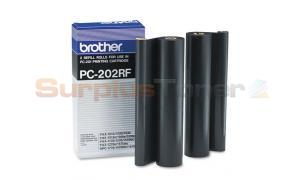BROTHER PC202RF REFILL ROLLS BLACK (PC-202RF)