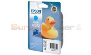 EPSON STYLUS PHOTO R240 INK CARTRIDGE CYAN (C13T05524020)