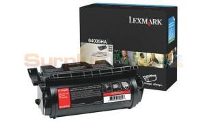 LEXMARK T644 PRINT CARTRIDGE BLACK 21K (64035HA)