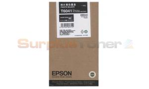 EPSON STYLUS PRO 7800 INK PHOTO BLACK 220ML (C13T604180)