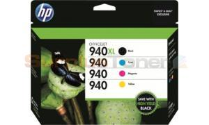 HP 940XL/940 INK CMYK COMBO PACK (CZ143FN)