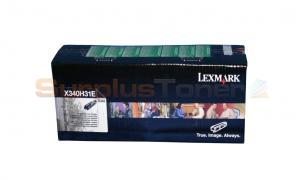 LEXMARK X342 PRINT CARTRIDGE BLACK HY (X340H31E)