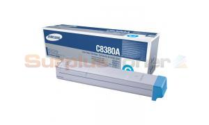 SAMSUNG © CLX-8380ND TONER CARTRIDGE CYAN (CLX-C8380A/SEE)