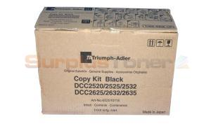 TRIUMPH-ADLER DCC2520 COPY KIT BLACK (652010115)