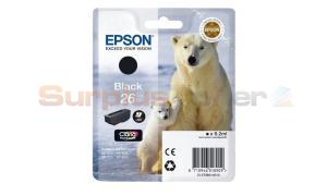 EPSON XP-600 / XP-800 INK CARTRIDGE BLACK (C13T26014010)