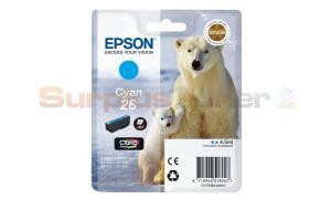 EPSON XP-600 / XP-800 INK CARTRIDGE CYAN (C13T26124010)