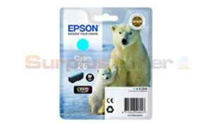 EPSON XP-600 / XP-800 INK CARTRIDGE CYAN (C13T26124020)
