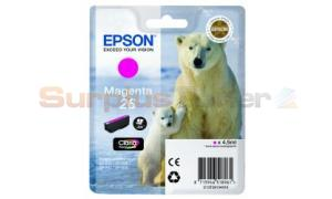 EPSON XP-600 / XP-800 INK CARTRIDGE MAGENTA (C13T26134020)