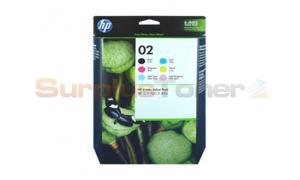 HP NO 02 INK CTG CMYK LC LM VALUE PACK (SA378AA)