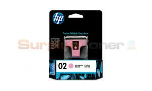 HP NO 02 INK CARTRIDGE LIGHT MAGENTA (C8775WA)