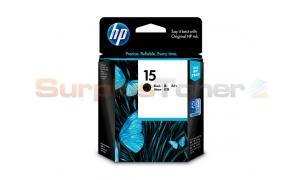 HP NO 15 INKJET PRINT CARTRIDGE BLACK (C6615DA)