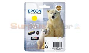 EPSON XP-600 / XP-800 INK CARTRIDGE YELLOW (C13T26144010)