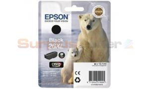 EPSON XP-600 / XP-800 INK CARTRIDGE BLACK HY (C13T26214020)
