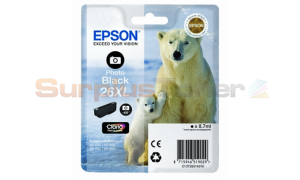EPSON XP-600 / XP-800 INK CTG PHOTO BLACK HY (C13T26314010)