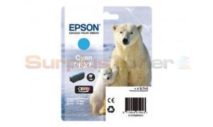 EPSON XP-600 / XP-800 INK CARTRIDGE CYAN HY (C13T26324020)