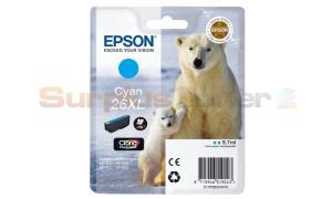 EPSON XP-600 / XP-800 INK CARTRIDGE CYAN HY (C13T26324010)